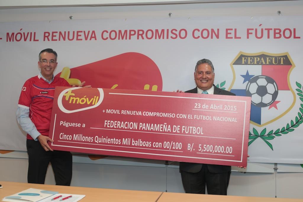 Photo of MÁS MÓVIL RENUEVA SU COMPROMISO CON EL FÚTBOL PANAMEÑO