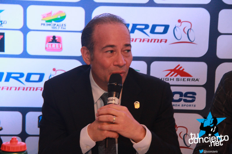 Photo of Conferencia de prensa Giro de Panamá