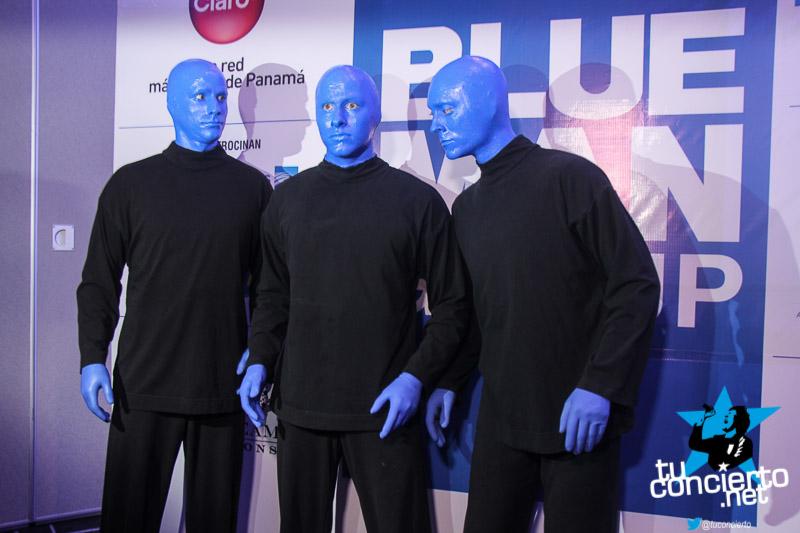 Photo of Conferencia de prensa «Blue Man Group»