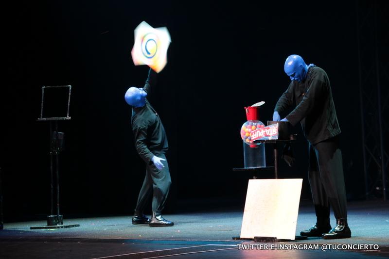 Photo of Vive el efecto Blue Man Group