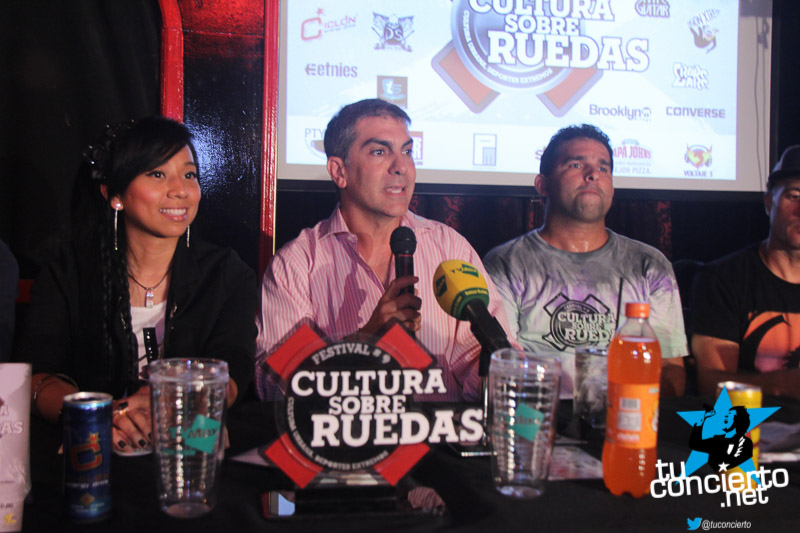 Photo of Conferencia de prensa Cultura sobre ruedas 2015