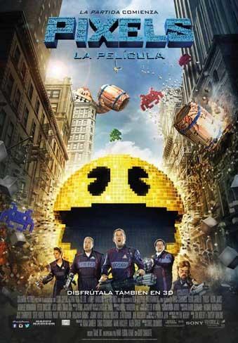 Photo of Revelan nuevo póster de la cinta Pixels de Chris Columbus