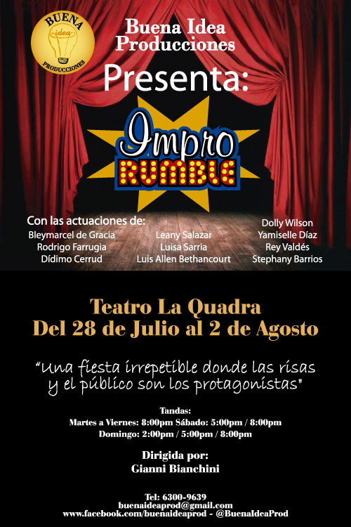 Photo of El IMPRO RUMBLE, una fiesta irrepetible