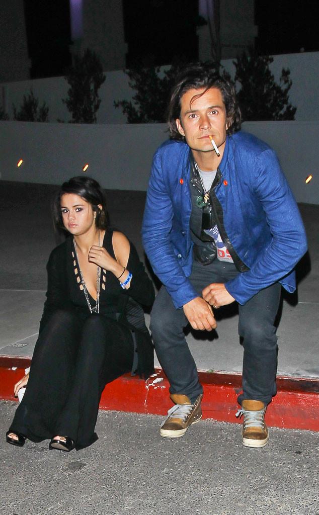 Photo of Luego de pasar la tarde con Justin Bieber, Selena Gomez visitó la casa de Orlando Bloom…