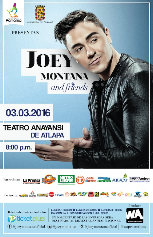 Photo of Joey Montana & Friends, el concierto del año