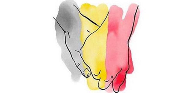 Photo of Los famosos se solidarizan con Bélgica