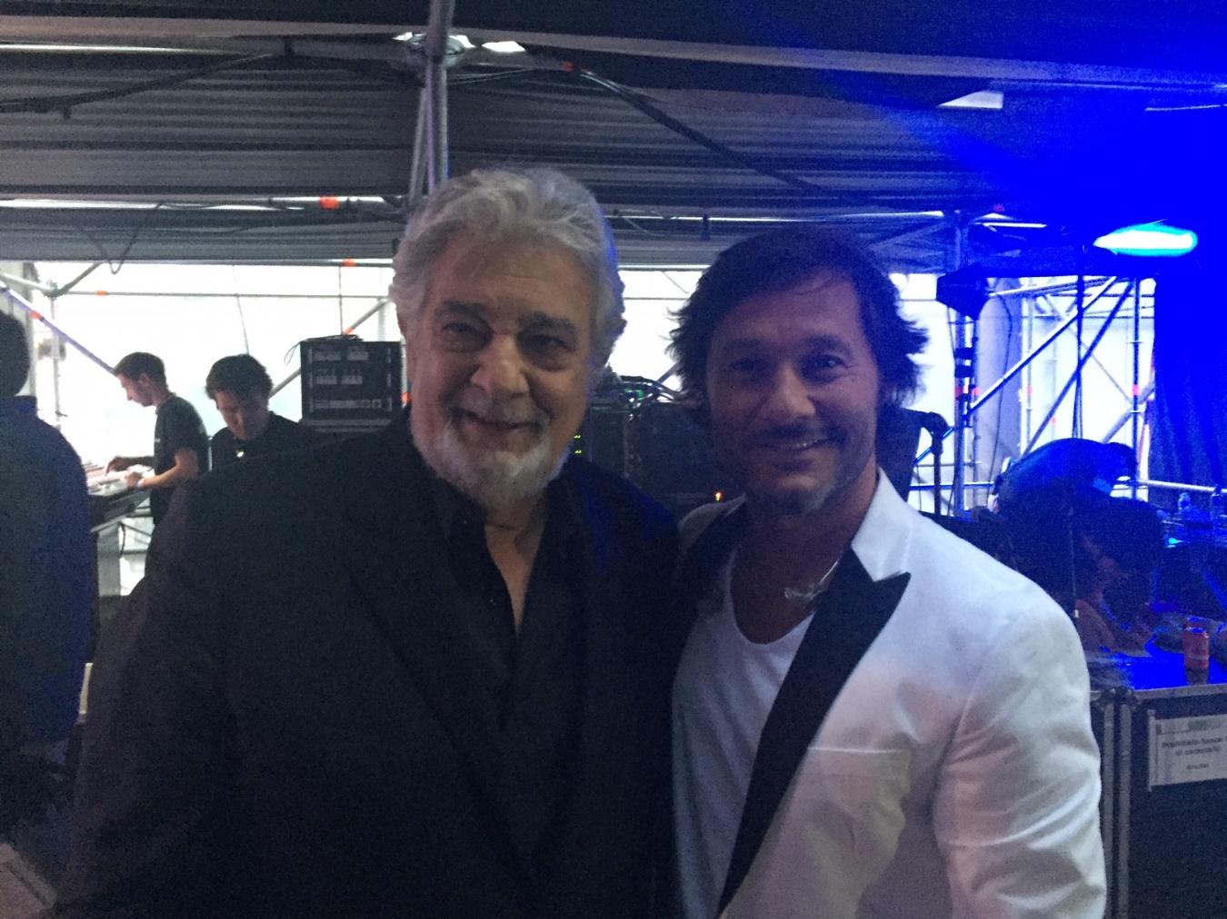 Photo of Diego Torres Compartió escenario con Placido Domingo