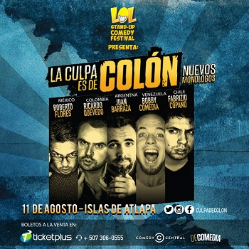 Photo of Stand Up Comedy: La culpa es de Colón