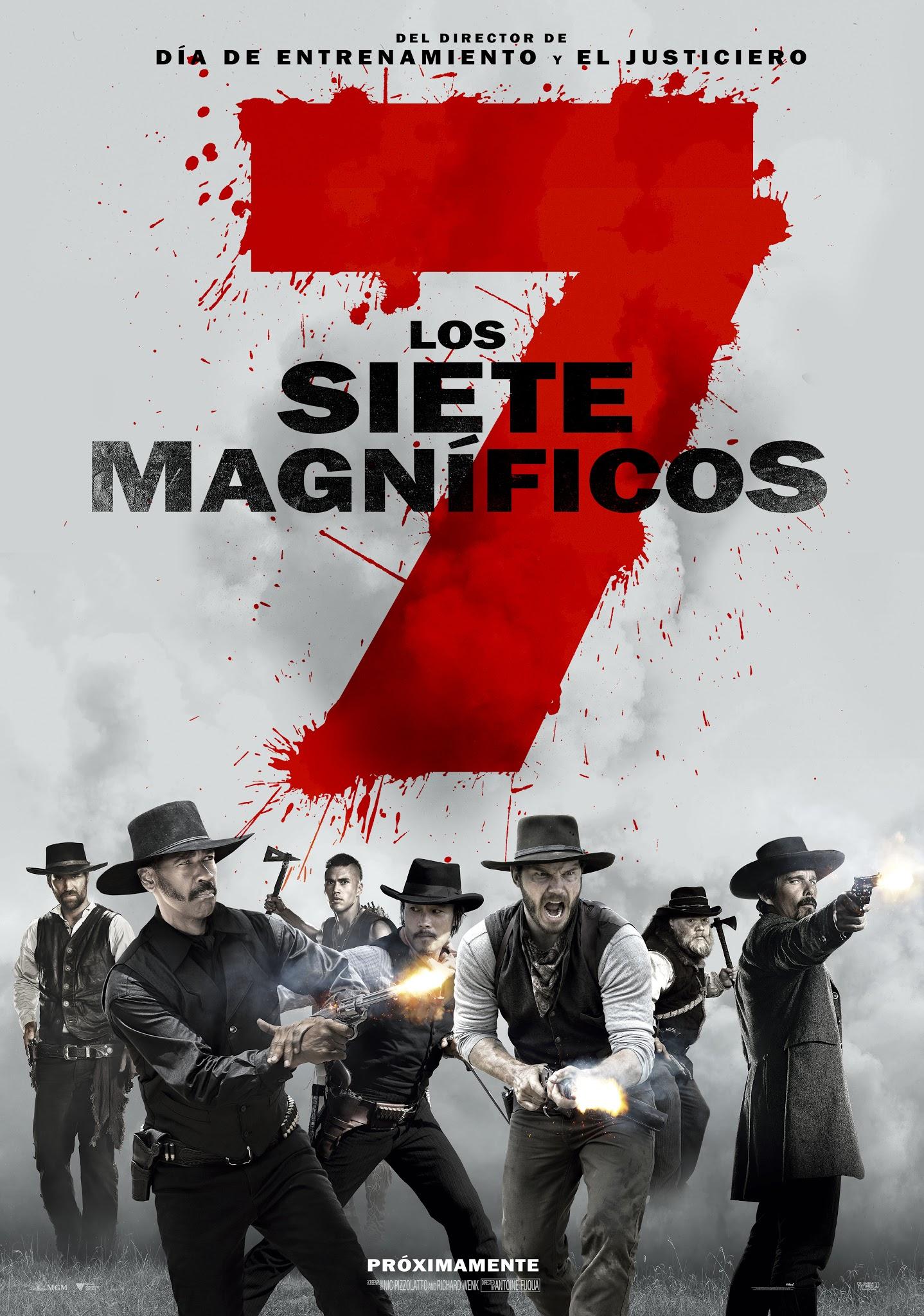 Photo of Llega al cine 'Los Siete Magnificos'