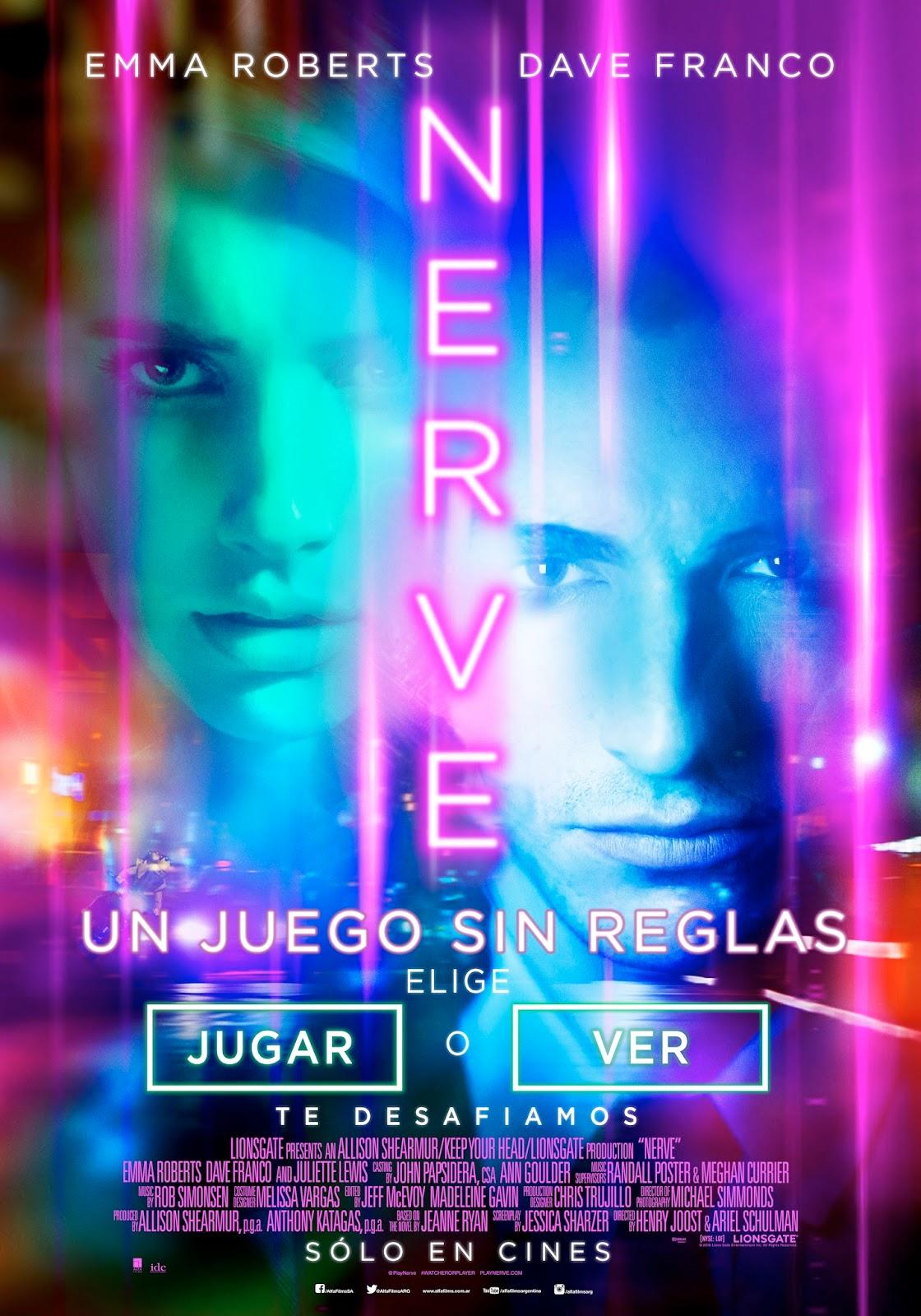 Photo of Nerve:Un Juego Sin Reglas