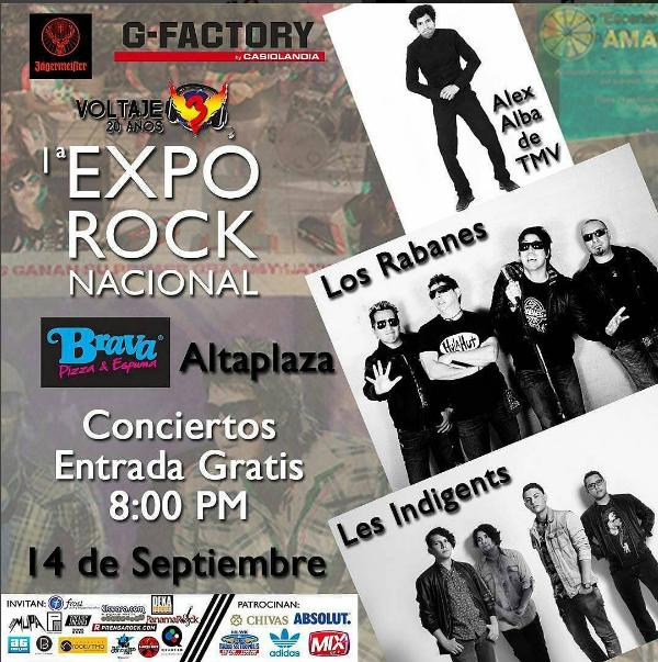 Photo of 1º Expo de Rock Nacional en Panamá
