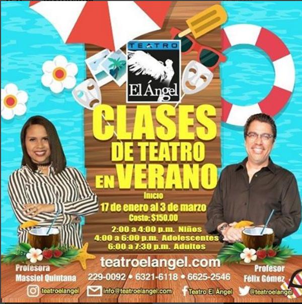 Photo of Clases de teatro en 'Verano'
