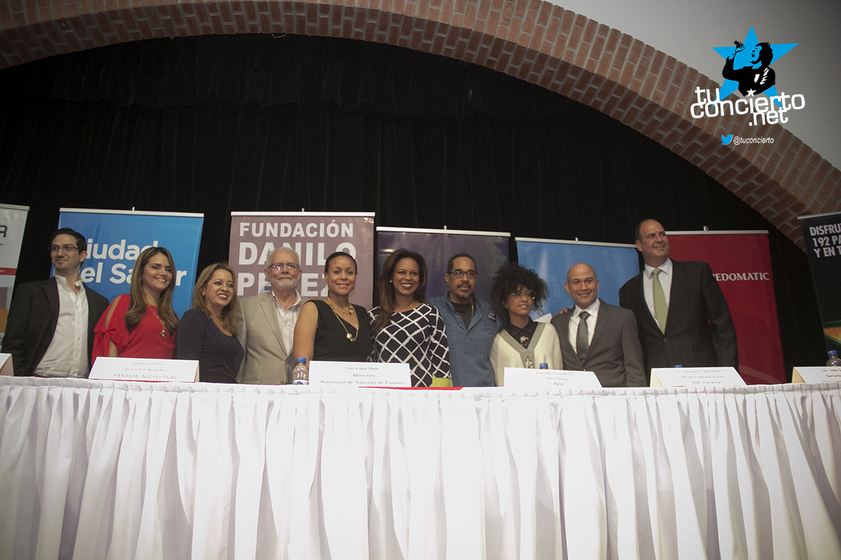 Photo of Conferencia de Prensa del Panamá Jazz Festival