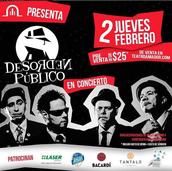 Photo of Desorden Publico estará en Panamá