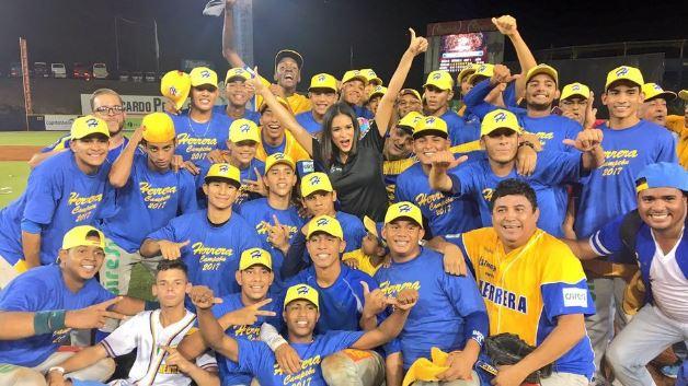 Photo of Herrera se corono campeón del Béisbol Juvenil 2017