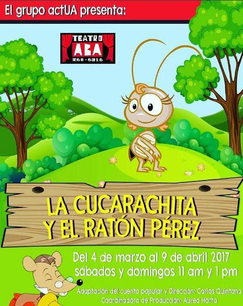 Photo of Últimos días de la obra 'La Cucarachita y el Ratón Pérez'