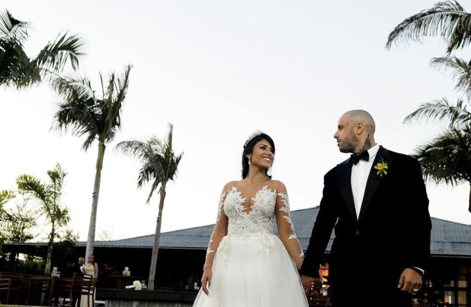 Photo of Nicky Jam y Angélica Cruz comparte fotos de su boda