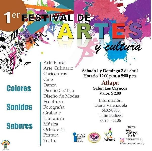 Photo of 1er. festival de artes y cultura