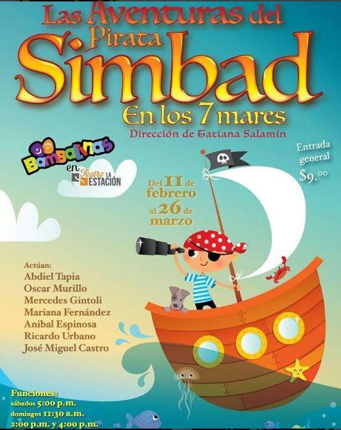 Photo of Las aventuras del pirata Simbad en los 7 mares