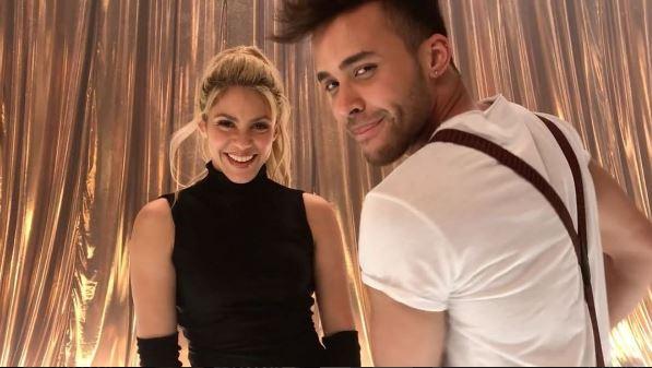 Photo of Shakira y Prince Royce muestran a sus fans a bailar Bachata