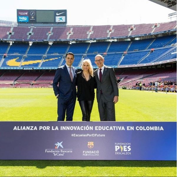 """Photo of Shakira une FC Barcelona y la Fundación Bancaria """"la Caixa"""" para construir una nueva escuela"""