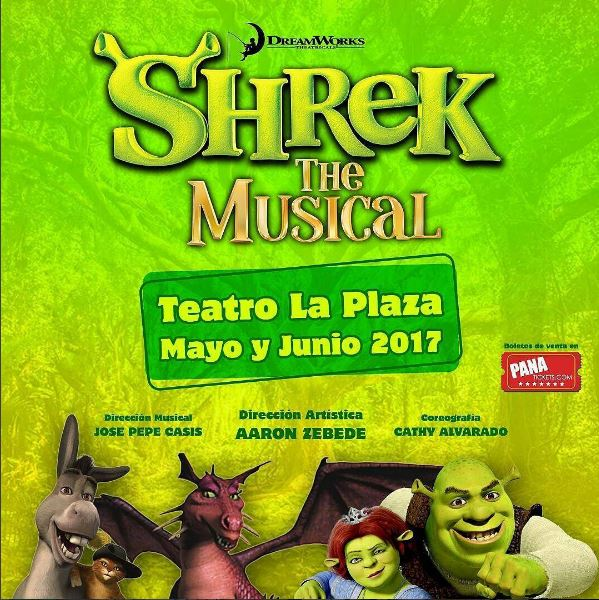 Photo of Shrek 'The musical' regresa a Panamá