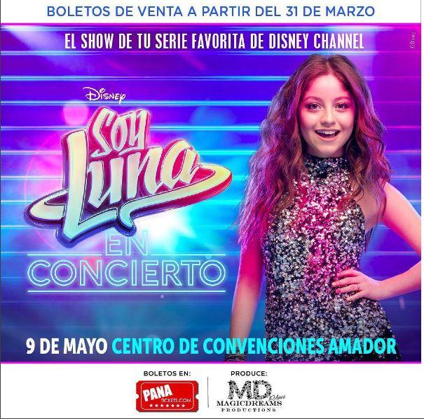 Photo of Boletos para el show 'Soy Luna' ya están disponibles