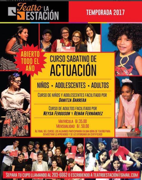 Photo of Llegan los cursos sabatinos en 'Teatro la estación'
