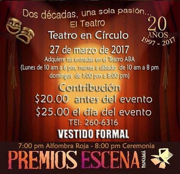 Photo of Día Mundial del Teatro y Panamá lo celebrará en 'Teatro en Círculo'