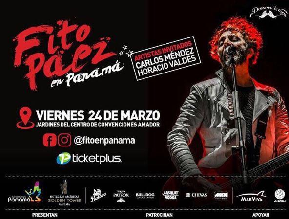 Photo of Esta noche Fito Páez en concierto