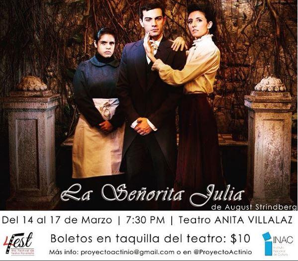 Photo of 4to Festival de Teatro de Panamá presenta 'La señora Julia'