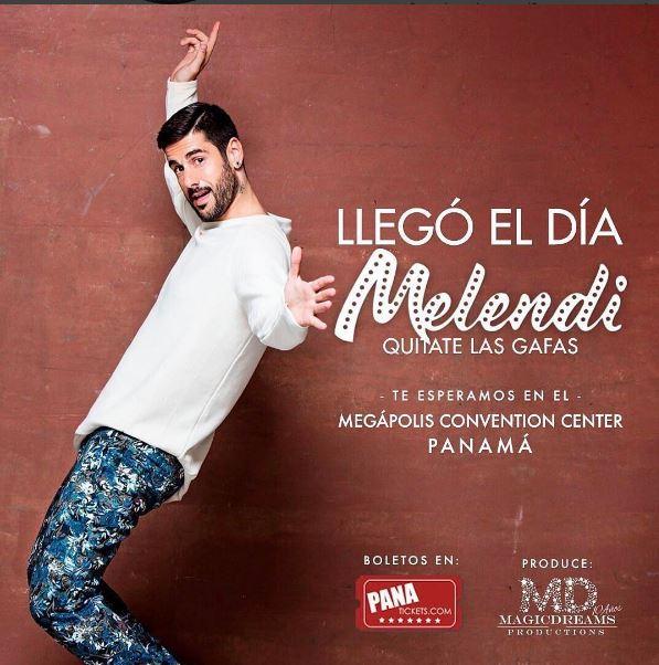 Photo of Esta noche Panamá se prepara para recibir a 'Melendi'