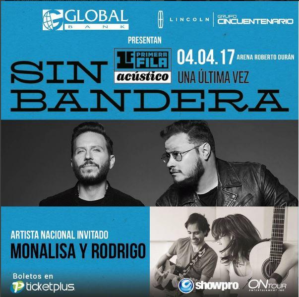 Photo of 'Monalisa y Rodrigo' serán los encargados de abrir el concierto de #SinBandera