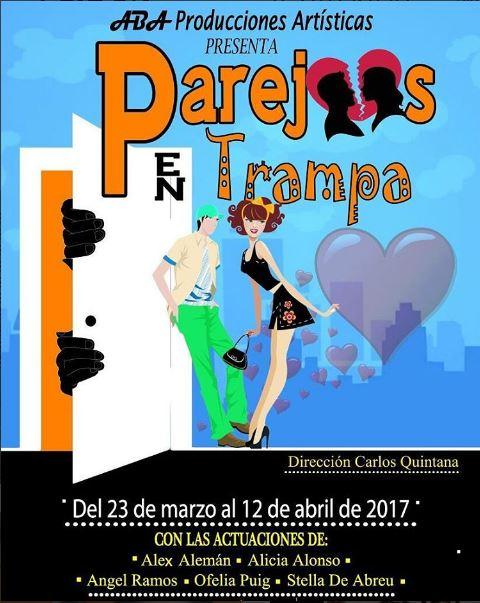 Photo of Este jueves el gran estreno de la obra 'Parejas en trampa'