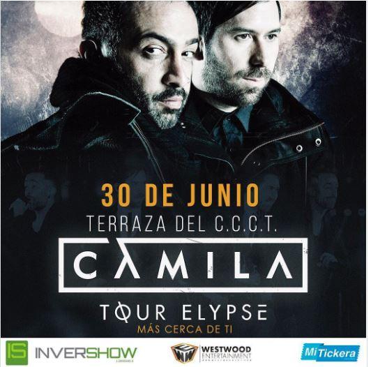 """Photo of La agrupación Camila presentara su """"Elypse Tour"""" en Venezuela"""