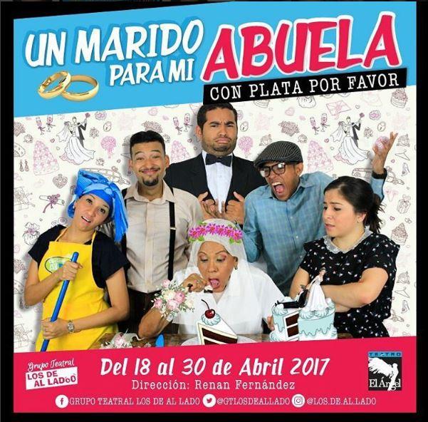 Photo of Mañana gran estreno de 'Un marido para mi abuela, con plata por favor'