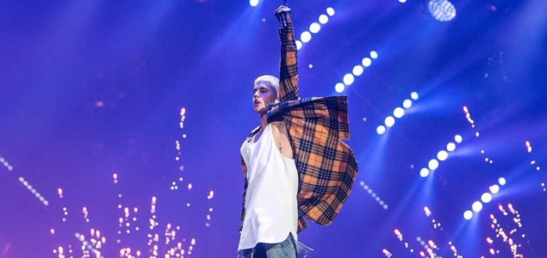 Photo of Justin Bieber fue imparable ante la lluvia durante su concierto en Quito