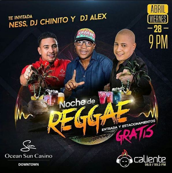 Photo of Ocean Sun Casino te trae una 'Noche de Reggae'