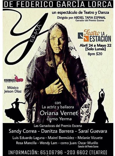 Photo of Teatro La Estación presenta 'Yerma, de Federico García Lorca'
