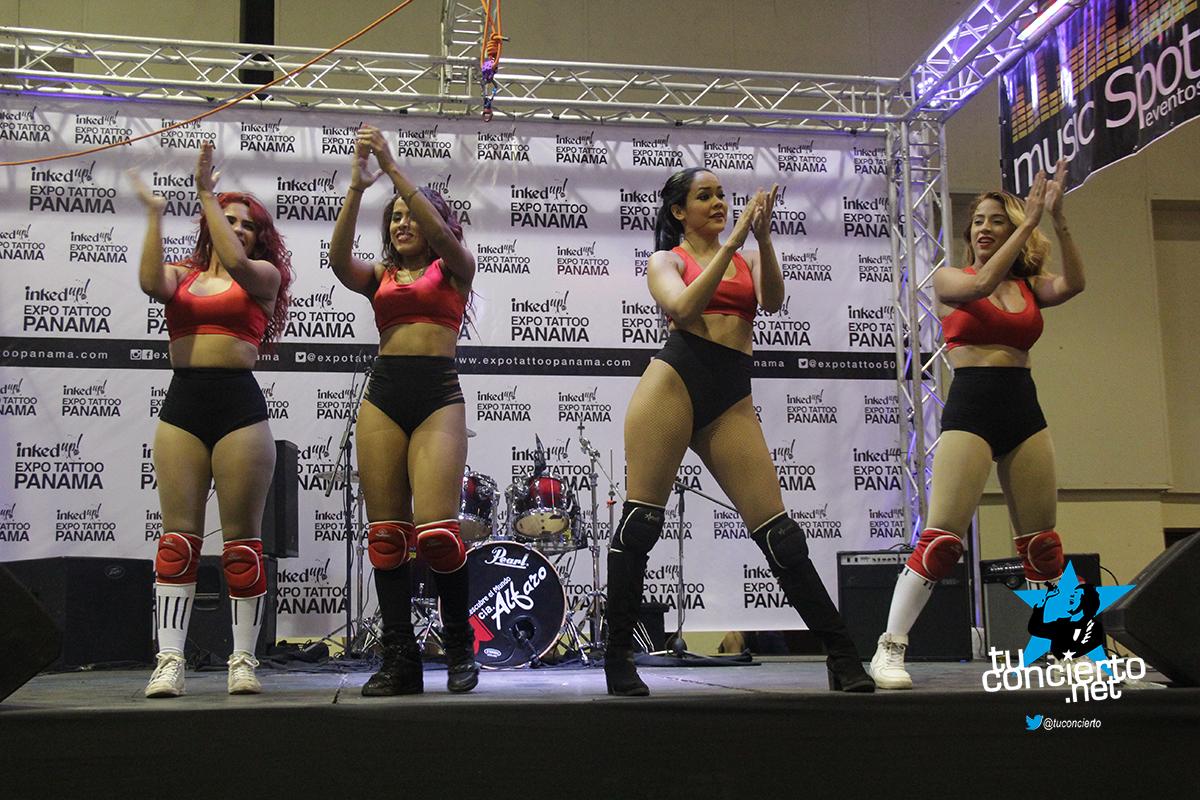 Photo of Presentación de las #Candygirls en Expo tattoo