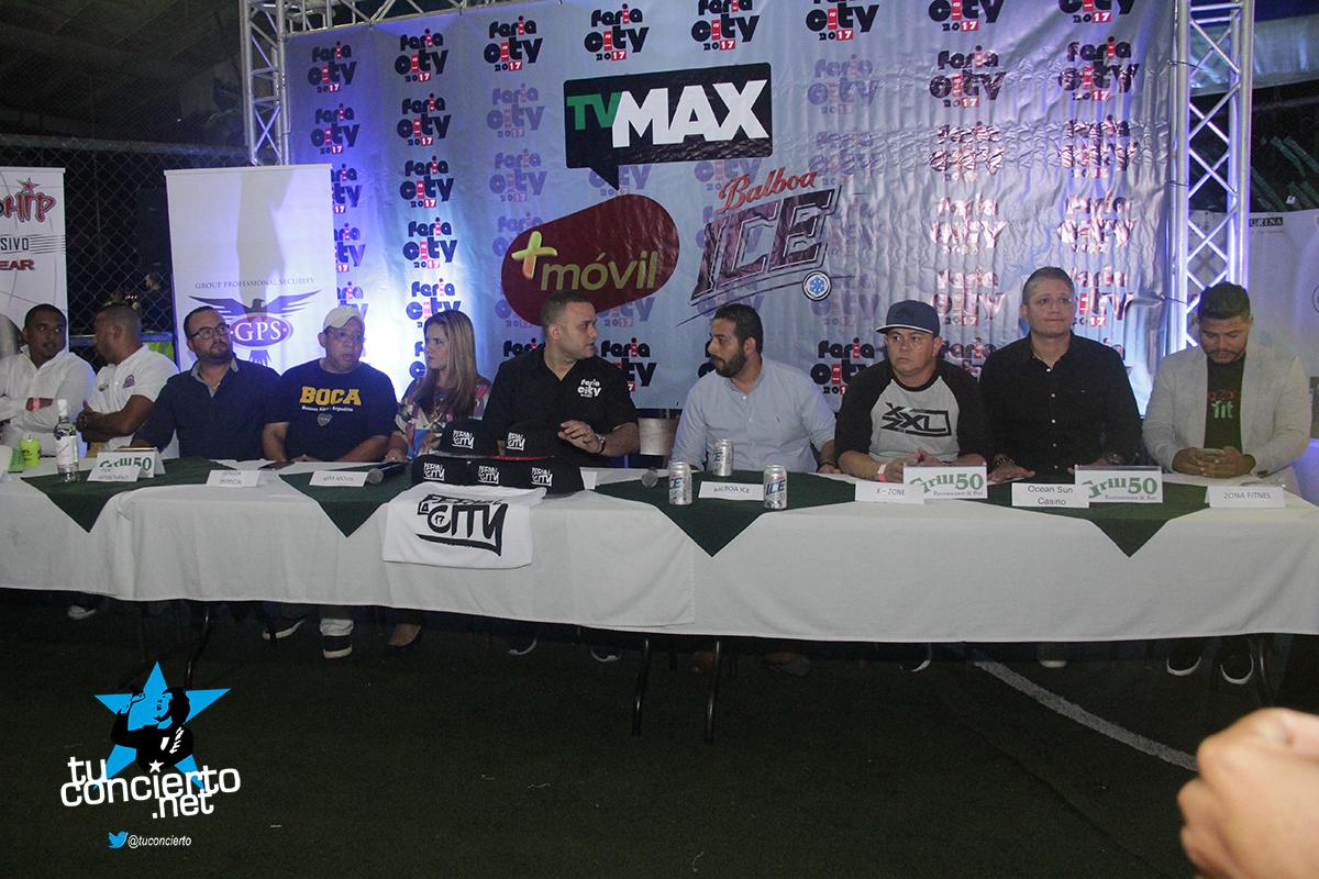 Photo of Conferencia de Prensa de la feria de la City 2017