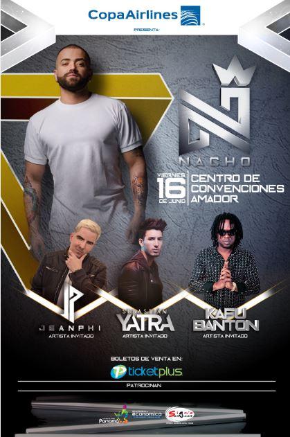 Photo of Nacho estará en concierto en Panamá
