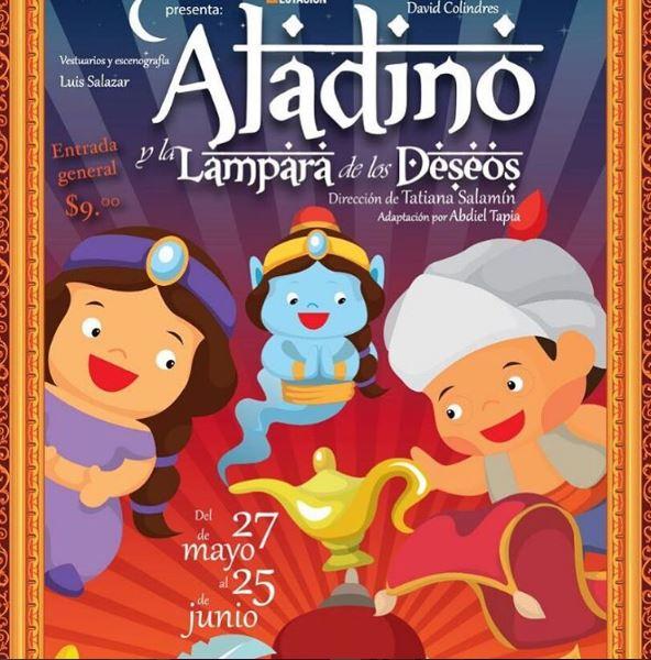 Photo of Aladino y la lampara de los deseos