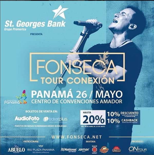 Photo of Fonseca en concierto