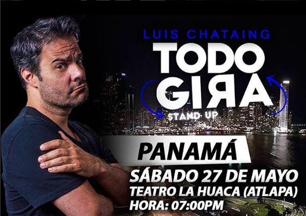 Photo of El comediante venezolano Luis Chataing estará en Panamá