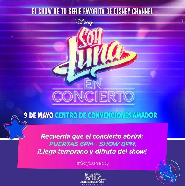 Photo of Faltan pocos días para el concierto de 'Soy Luna' en Panamá