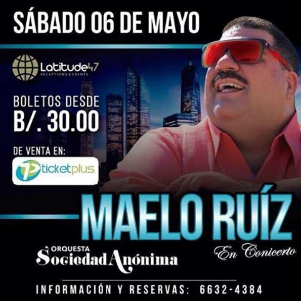 Photo of Maelo Ruiz en concierto