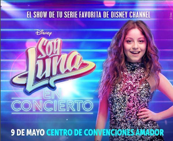 Photo of A solo hora para disfrutar del concierto 'Soy Luna' en Panamá