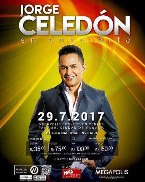 Photo of Jorge Celedón en concierto