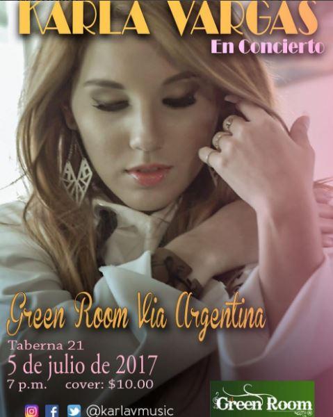 Photo of Karla Vargas en concierto